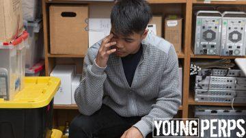 Asian boy gets caught stealing